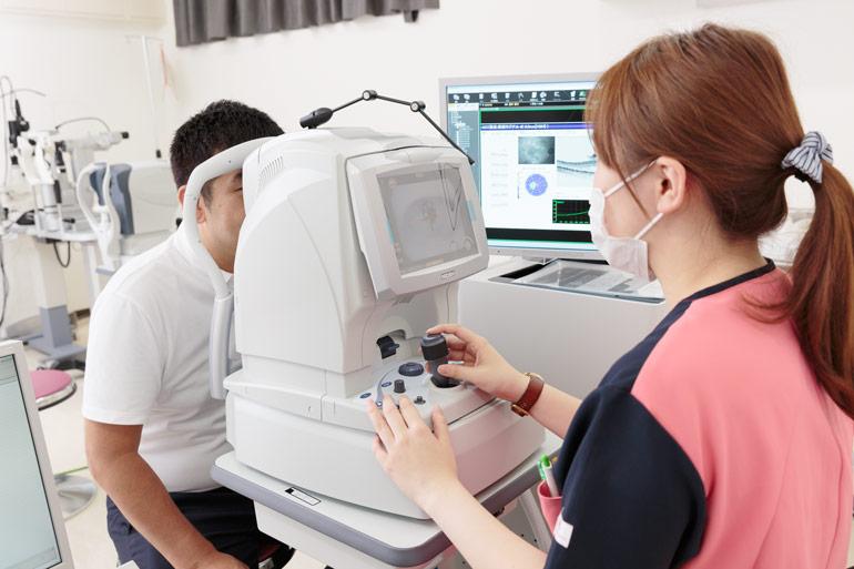 白内障の検査